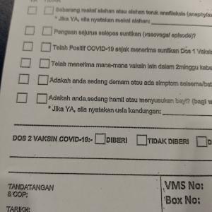 行って来ましたよ!話マレーシアで2回目ワクチン接種! そのプロセスと留意点!