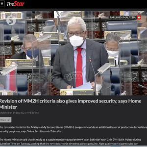 MM2Hはマレーシアの安全保障にとって、、、え〜〜っつ! 新規感染者は着実に減ってます!