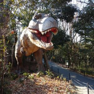 大高緑地公園の恐竜探検!