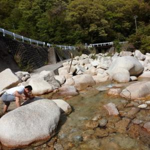 川がキレイ!朝明川上流へ!!