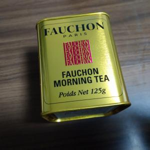 FAUCHONのモーニングティー!