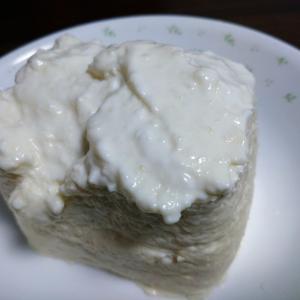 自作ヨーグルトチーズケーキ!