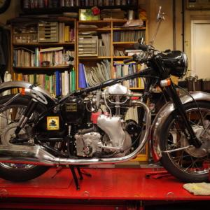 1960 VELOCETTE VIPER キャブ交換 ~キャブは消耗品~