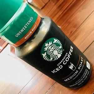 スタバの1.4L無糖アイスコーヒーボトル