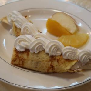純喫茶マニアの聖地で、「バナナクレープ」懐かしい甘みと香りに、ホッとしました。。。東中野・喫茶 ルーブル