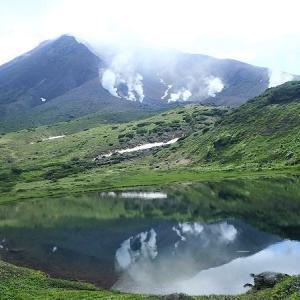 7月の山・・・裾合平から中岳分岐 旭岳へ周回縦走