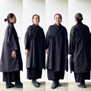 野良着屋白椿 ちくちく手縫いで作る 「袷コート」キット販売開始のお知らせ