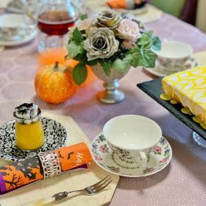 ハロウィンのお茶会と世界の紅茶
