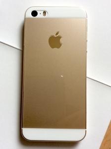 iPhone5sゴールドを裸で使うのにぴったりな背面ガラスを発見「クリスタルアーマー ラウンドエッジ強化ガラス バックプロテクター」
