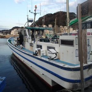 東京湾 タチ&アジ リレー釣行記 福よし丸2