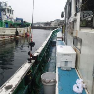 東京湾 タチ&アジ リレー釣行記 福よし丸8