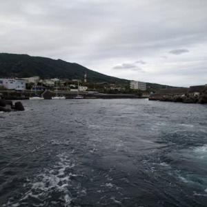 大島到着 パラダイス釣行 その2