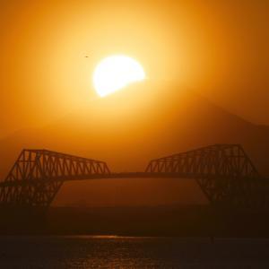 舞浜 (1) ~ ダイヤモンド富士 × 東京湾ゲートブリッジ など ~