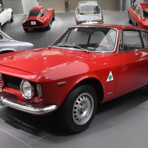 """アレーゼ (3) ~ アルファロメオ歴史博物館(その3) デザイン編 アルファ・ロメオ """"ジュリア・スプリント・GTA""""/""""8C2900 Lungo""""、 A.L.F.A 40/60HP """"Aerodinamica""""  など ~"""