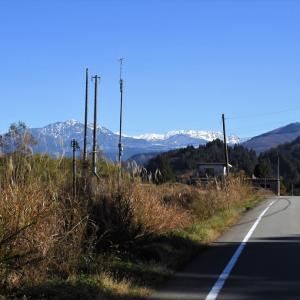 県道富山上滝立山線を走って芳見橋から県道立山公園線に出る(9)・・・富山市(旧大山町)