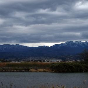 立山の雲行き・・・富山市水橋