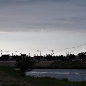 夏至の前後、日の暮れは遅く闇は遠い・・・富山市水橋