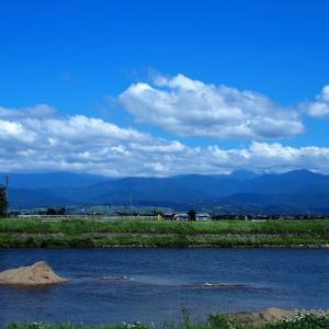 景色は秋の気配ですが、猛暑の気温が人を打ちのめす・・・富山市水橋、上市町