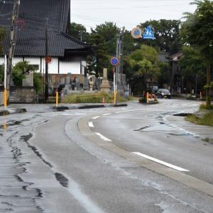 雨の日、水橋町内のあの道この道・・・富山市水橋