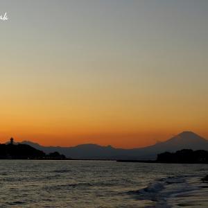 稲村ケ崎の夕景