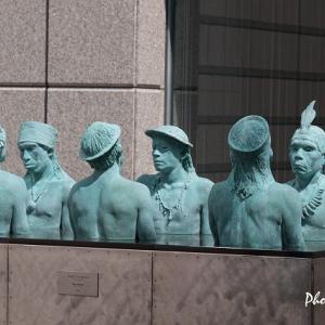 横浜ビジネスパーク(3)・・・アート作品いろいろ