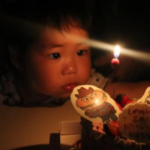 二歳のお誕生日♪