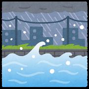 土砂降りの一日に災害対策を見直す日