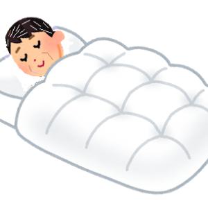 歳を取ったら羽毛布団 福岡は気温が16℃に