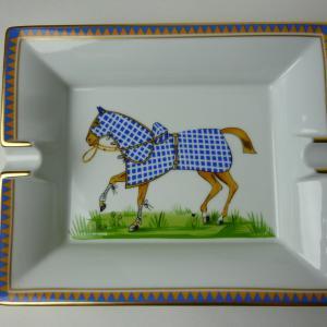 エルメス 灰皿「馬」