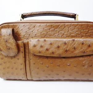 オーストリッチ・セカンドバッグ