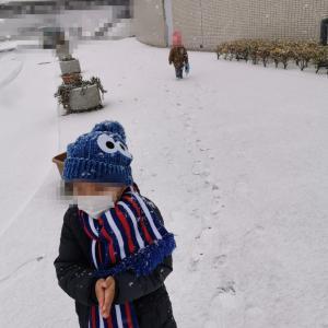 病院と雪だるま♡