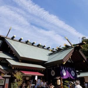 朔月詣りに東京大神宮に来ました。