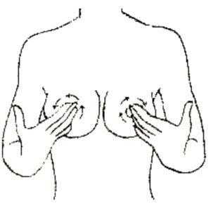 乳首マッサージ