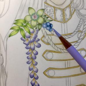 色鉛筆mix111 下描き 続きその2