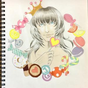 色鉛筆mix85
