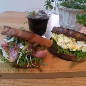 朝食サンドイッチ&お弁当(*^-^*)