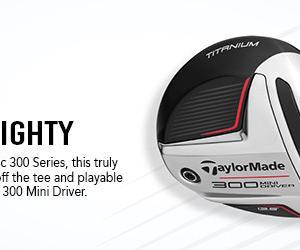 テーラーメイド最新 300MINIドライバーの発売です。新作!Taylor Made 300 Mini Driver 数限定!全英オープンもの!
