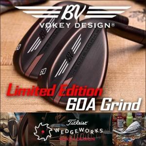 限定版のWedgeWorks60 A Grindは、ツアーから直接提供されます。Titleist Vokey Design Limited Edition 60A Grind Custom Wedge