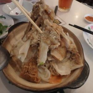 Fish Head Mee:Goon Wah「冠華」でお持ち帰りして、ある時は冷凍する。それでも美味しい。