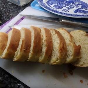 生まれて2度目のパン焼き:牛乳パック使って食パンを焼いた美味し。