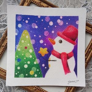 新簡易テキスト講座「雪だるまのクリスマス」
