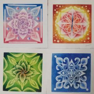 曼荼羅アートは24日から販売開始します