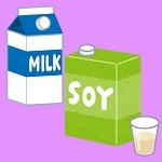 牛乳(Non GMO)から豆乳(オーガニック限定)へシフト~