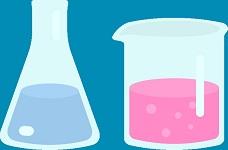 塩+水(電気分解)で塩素ガス(次亜塩素酸も)