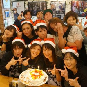 12月に入りクリスマス会・忘年会・お誕生日会などでご利用頂いてます