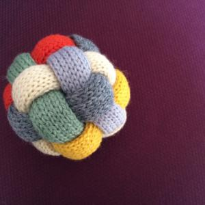 Gift : Knitted Baby Toy ニットボール☆