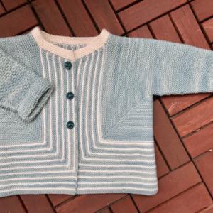 Baby knits: Garter Cardigan ベビーニット