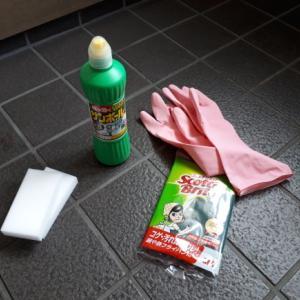 玄関のたたき洗浄