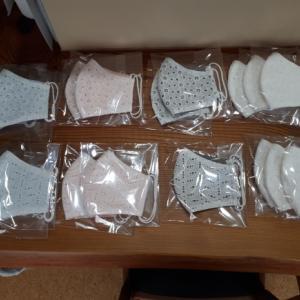 手作りマスク販売 明日 21日(月)