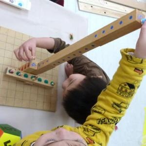 遊ぶうちに数の分解や足し算への興味が高まるゲーム